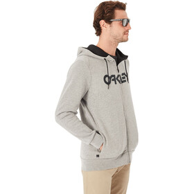 Oakley Mark II Full Zip Hoodie Men Athletic Heather Grey